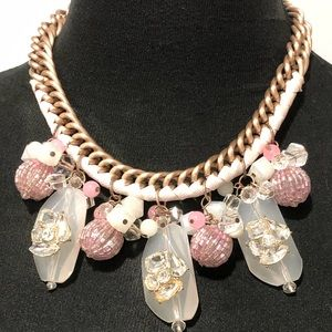 BNWT beaded statement necklace